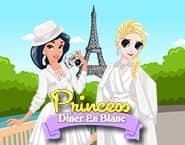 Princess Diner En Blanc