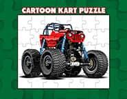 Cartoon Kart Puzzle