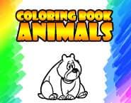 Carte de colorat - Animale