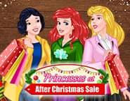 Prințesele și Reducerile de după Crăciun