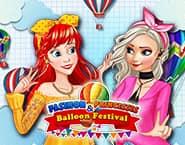 Prințesele Modei și Festivalul Baloanelor