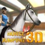 Sărituri de Obstacole cu Calul 3D